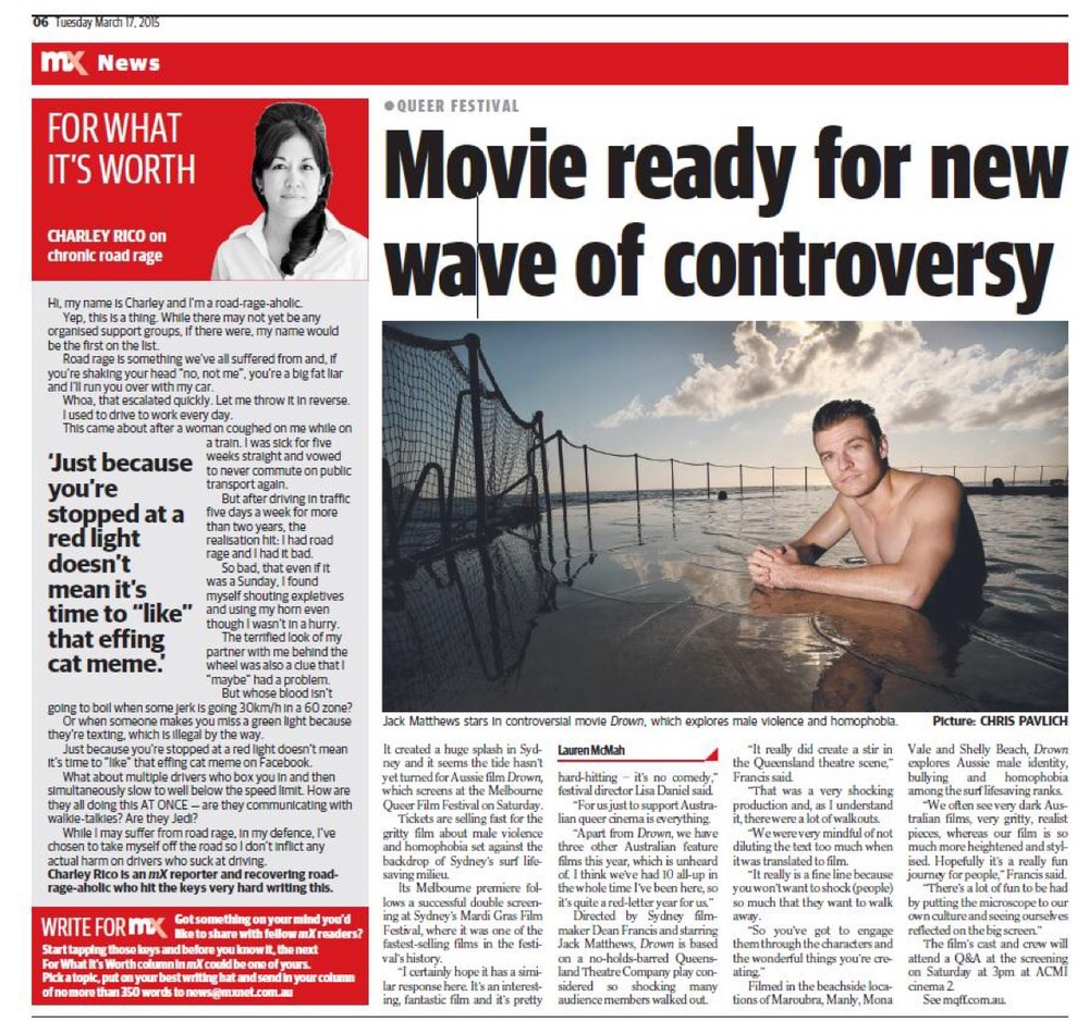 MX Newspaper, Melbourne