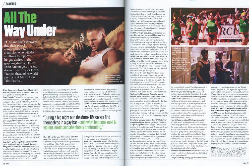 DNA Magazine, 30/15