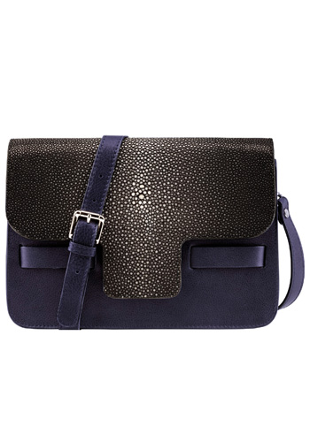 Lili Radu_FW1617_LILI'S STINGRAY SHOULDER BAG MIDNIGHT BLUE.jpg