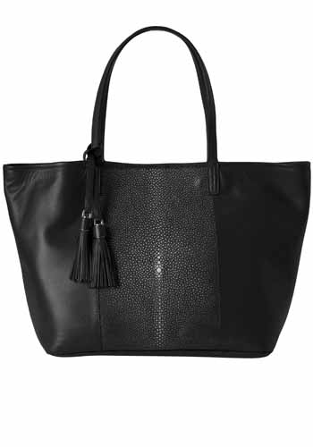 Lili Radu_FW1617_STINGRAY SHOPPER_BLACK.jpg