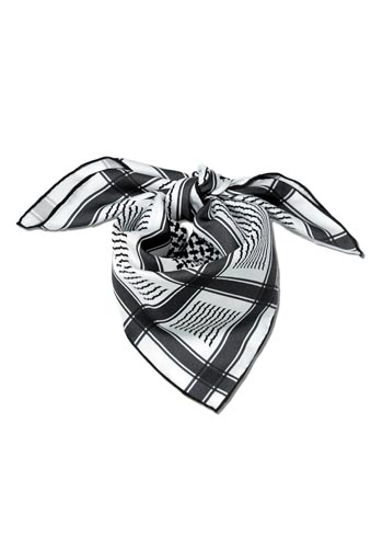 Keffiyeh - Black, White.jpg