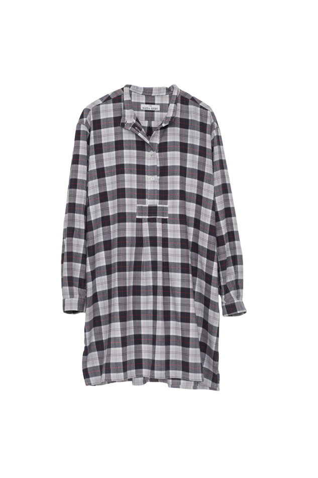 Pictured : Short Sleep Shirt in Carnaby Plaid