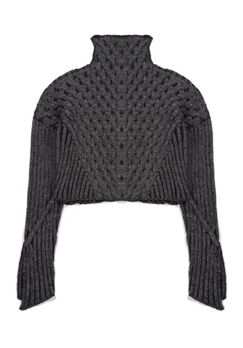 Plated Cable Pullover - Black Ground Ash Spacedye.jpg