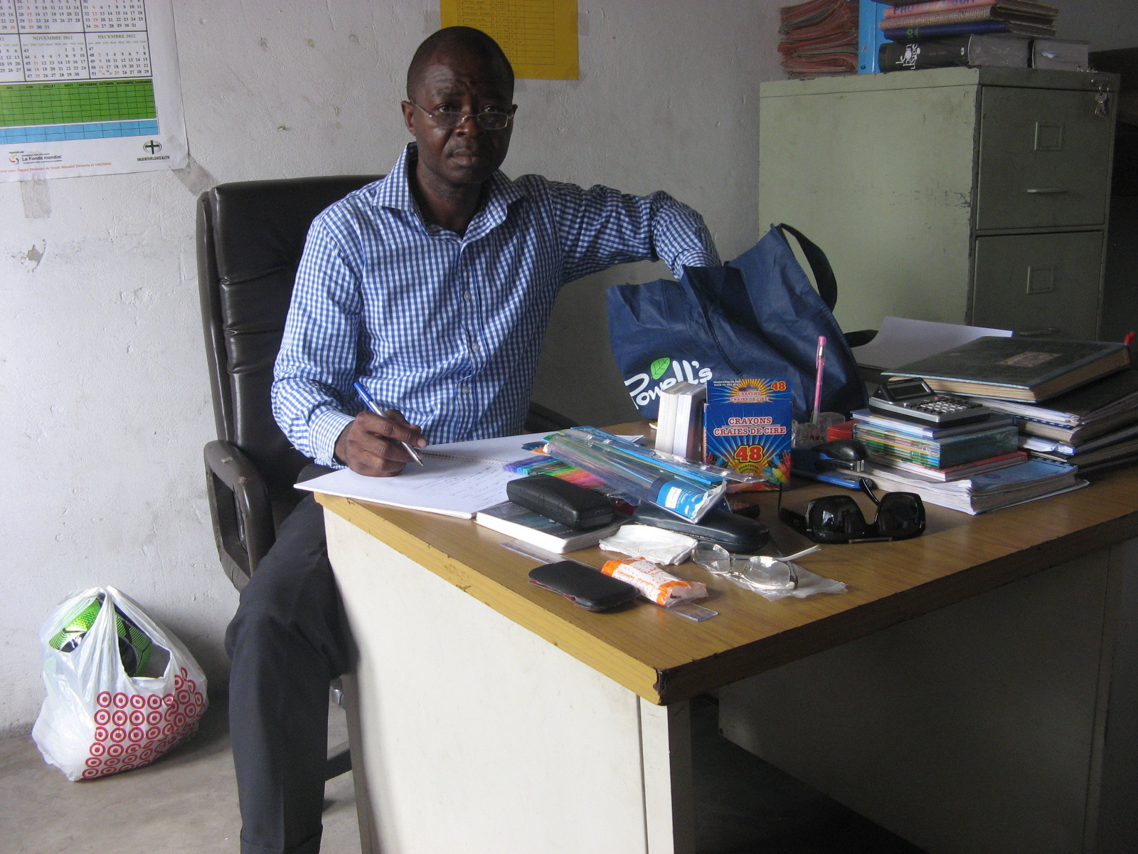 Dr. Jerry Kindomba, Project Manager