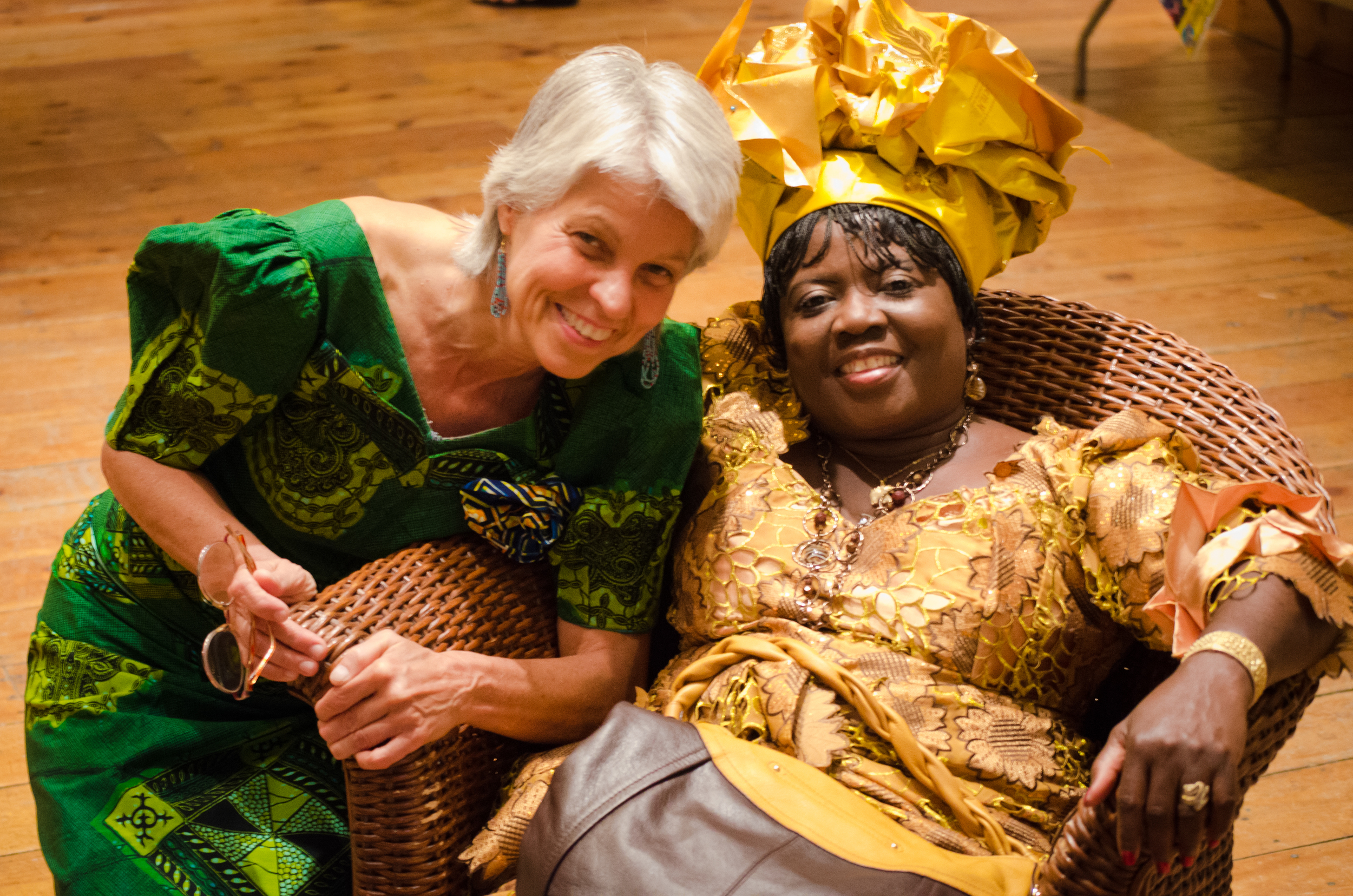 Co-founder Ann Marie, left, was born and raised in DR Congo