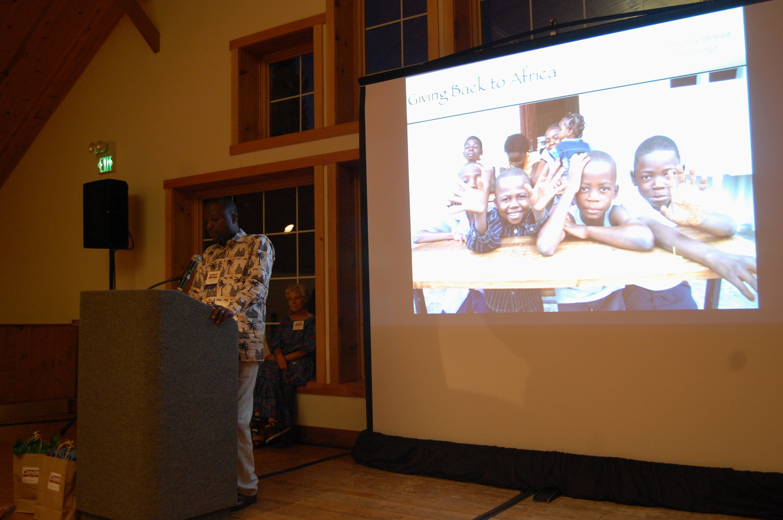 Dr. Jerry Kindomba, Project Manager, talks with us about his vision and work in DR Congo