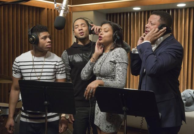 """Chuck Hodes, courtesy of Fox    The Lyon family comes together to record a legacy album in the """"The Lyon's Roar"""" episode of 'Empire.'"""