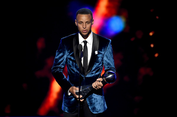 Stephen Curry at the ESPY'