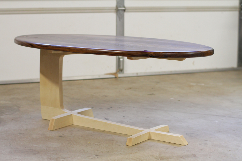 Deceptively Simple. The Cantilever Coffee Table ...
