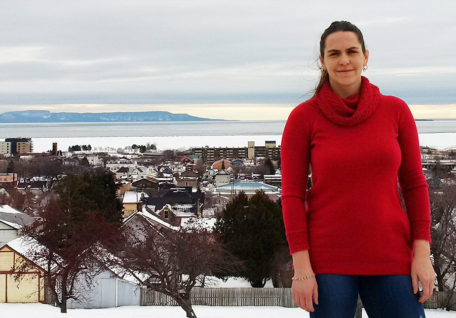 Stacey Livitski was diagnosed with type 1 diabetes when she was seven. She loves Thunder Bay's outdoor lifestyle, but worries about the impact of the region's long wait times for appointments with diabetes care specialists.