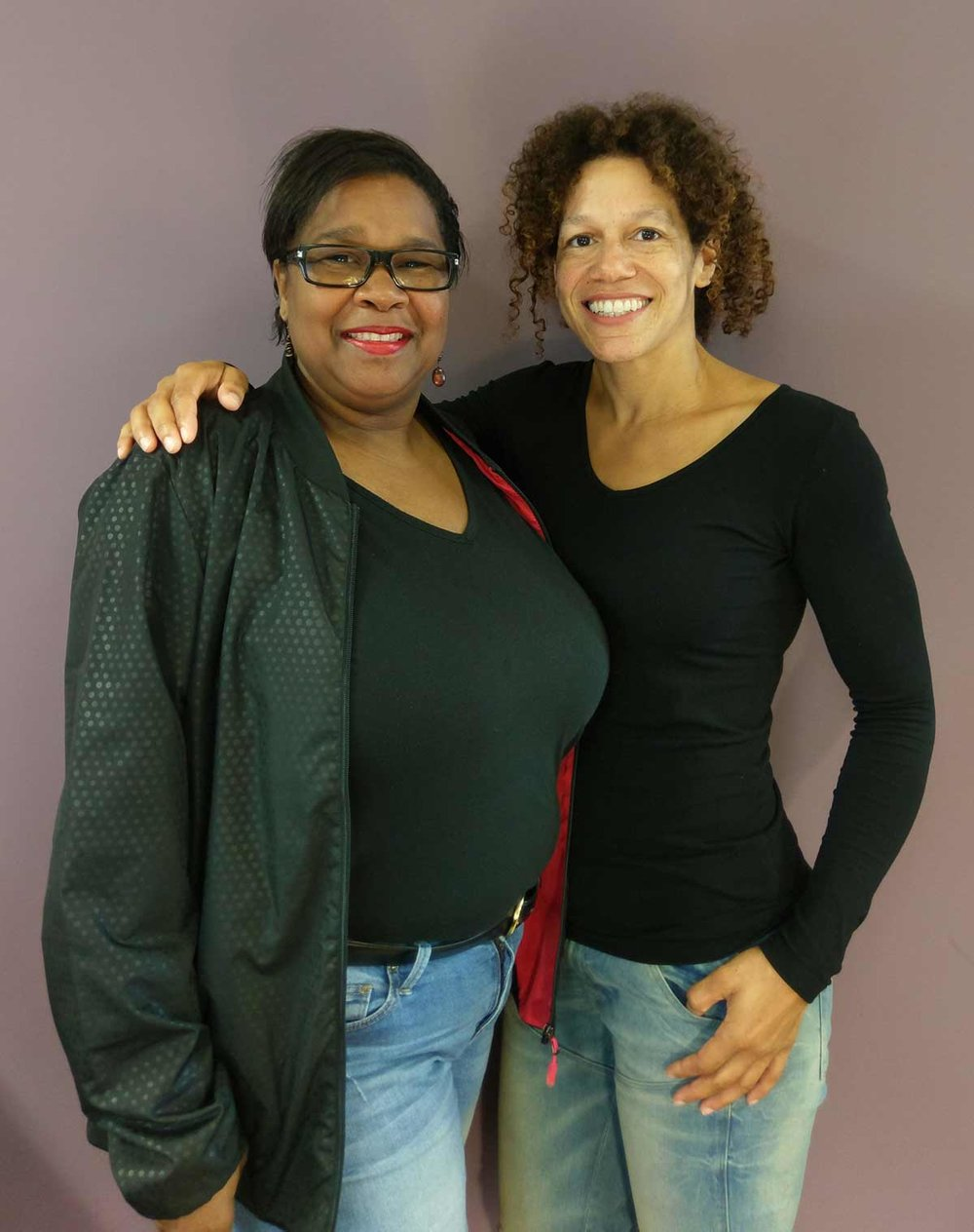 Health Coach Dawn Shepherd (on the right) gives Missy Searl tools and motivation to help prevent type 2 diabetes. SUPPLIED