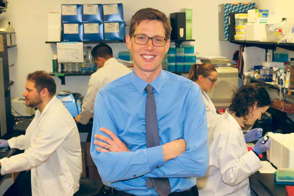 Gregory Steinberg has received Diabetes Canada funding to research ways to ramp up the body's metabolism to burn fat and sugars to avoid the development of diabetes . Supplied