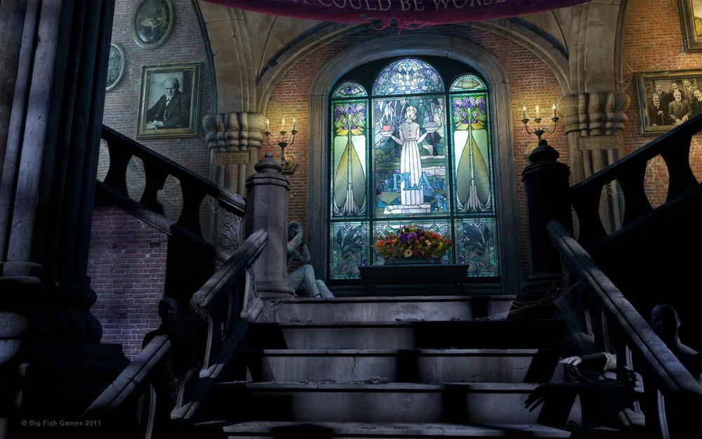 The Asylum Staircase