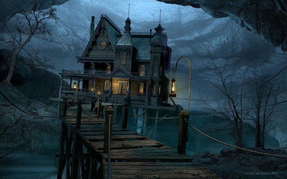 Ravenhearst Underground Mansion