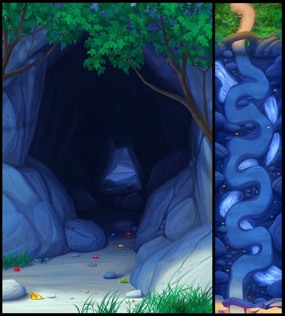 """Sapphire Caves"""