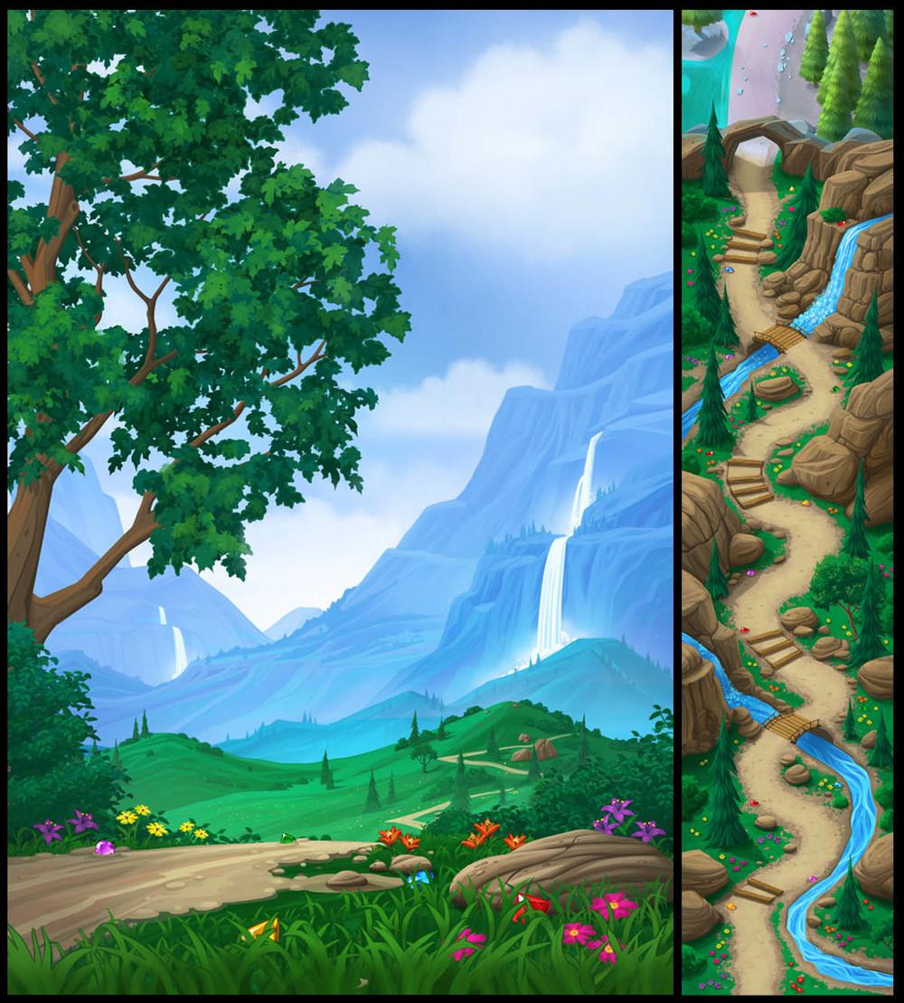 """""""Cascade Mountains"""""""