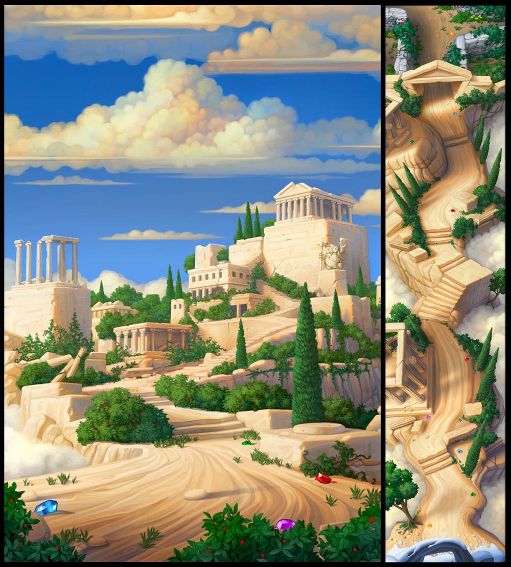 """""""Ruins of Olympus"""""""