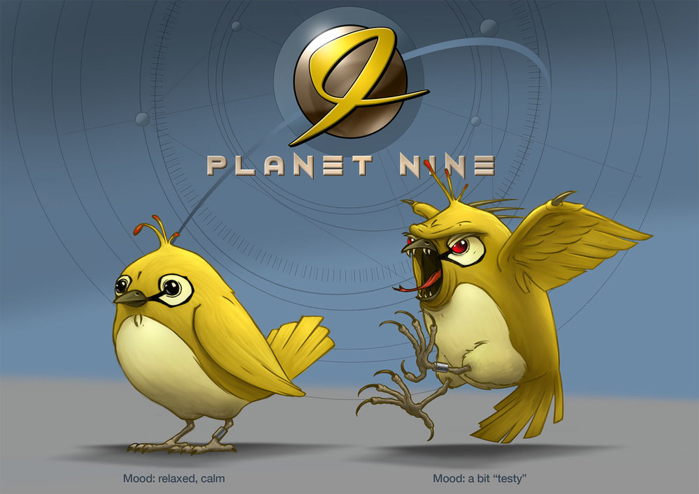"""Planet 9"" Casual Game"