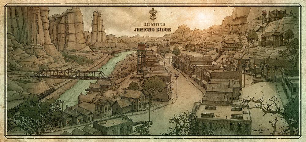 """""""Time Stitch: Jericho Ridge"""""""