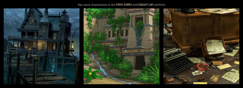 VIDEO GAME illustration link