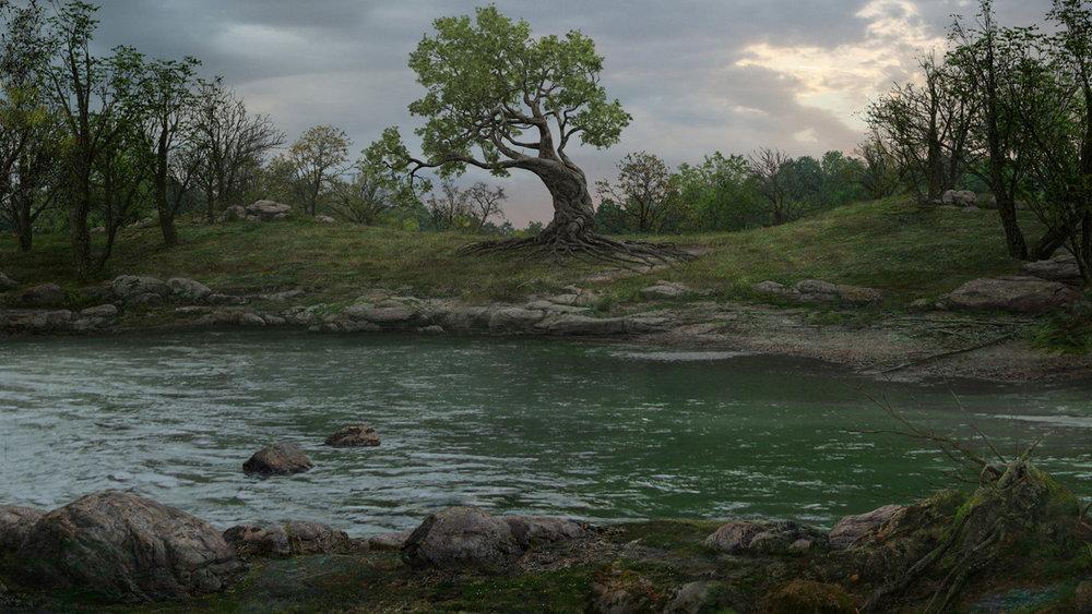 Alice in Wonderland: River