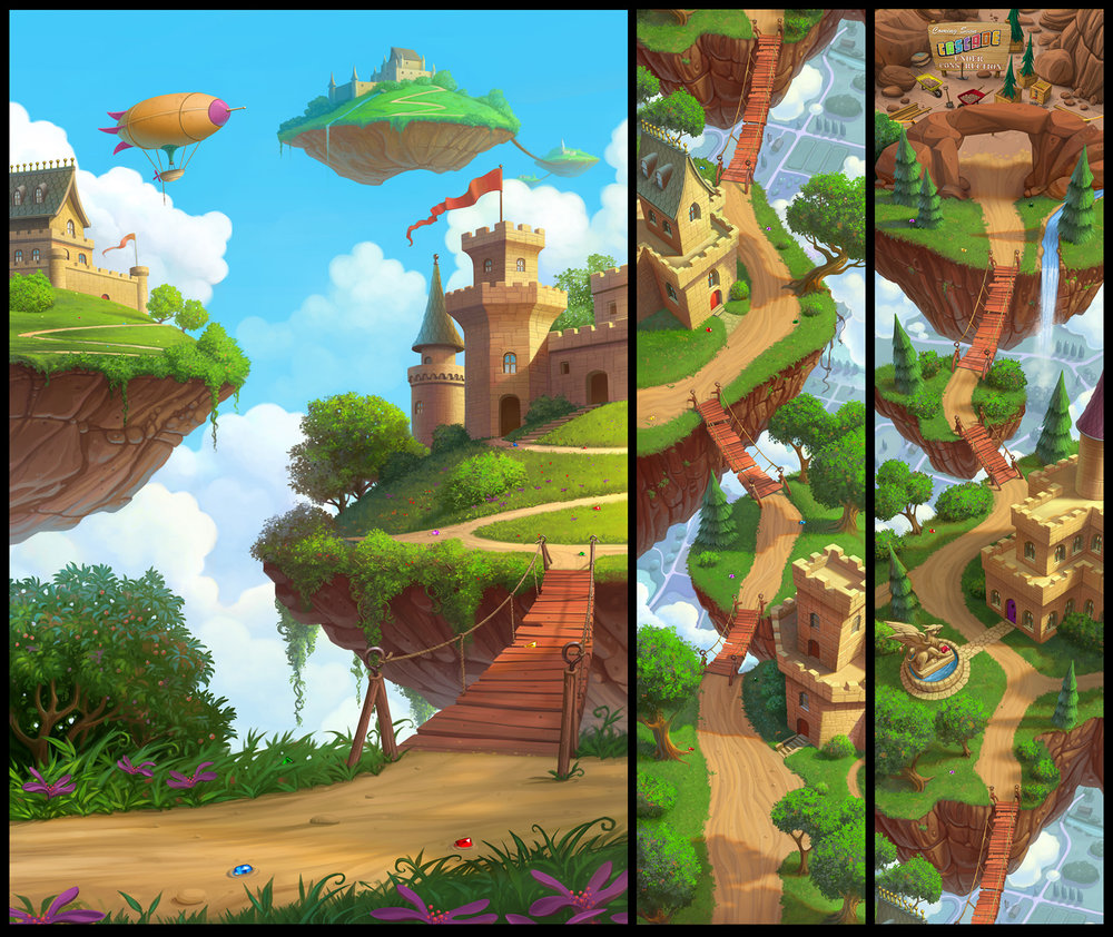 """Sky Castles"""