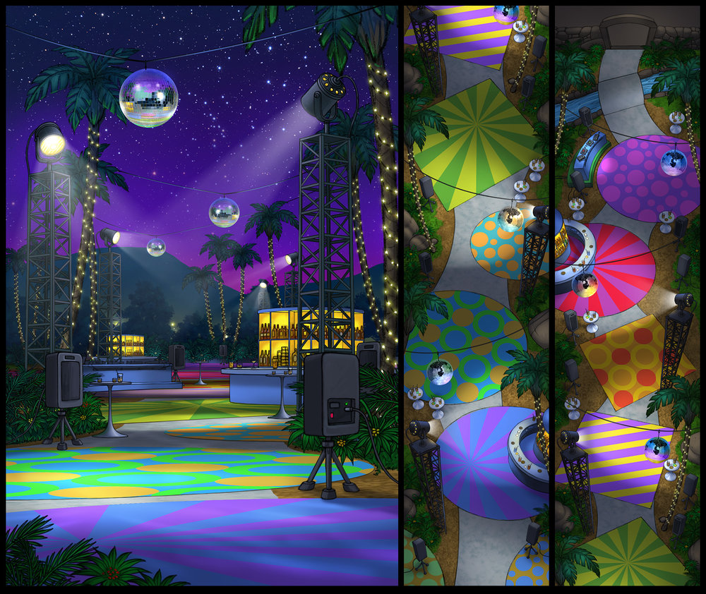 """Disco Party"" (Concept art)"