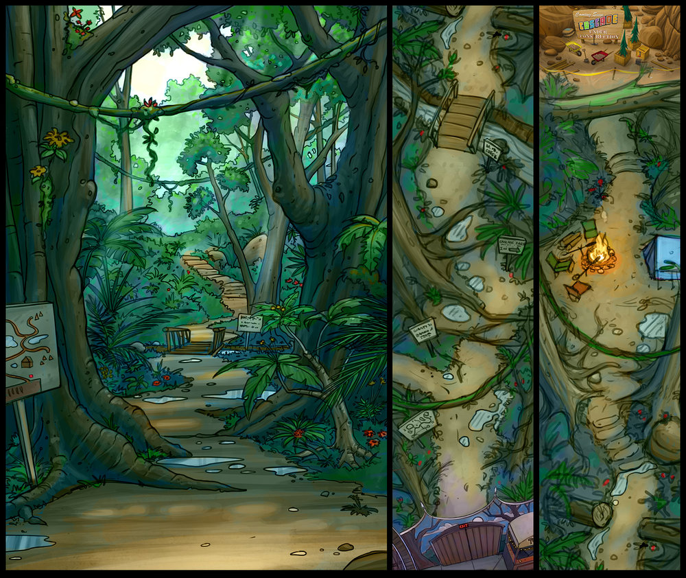 """Rainforest"" (Concept art)"
