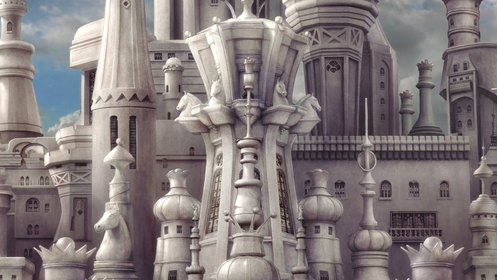 Alice in Wonderland: White Queen Castle