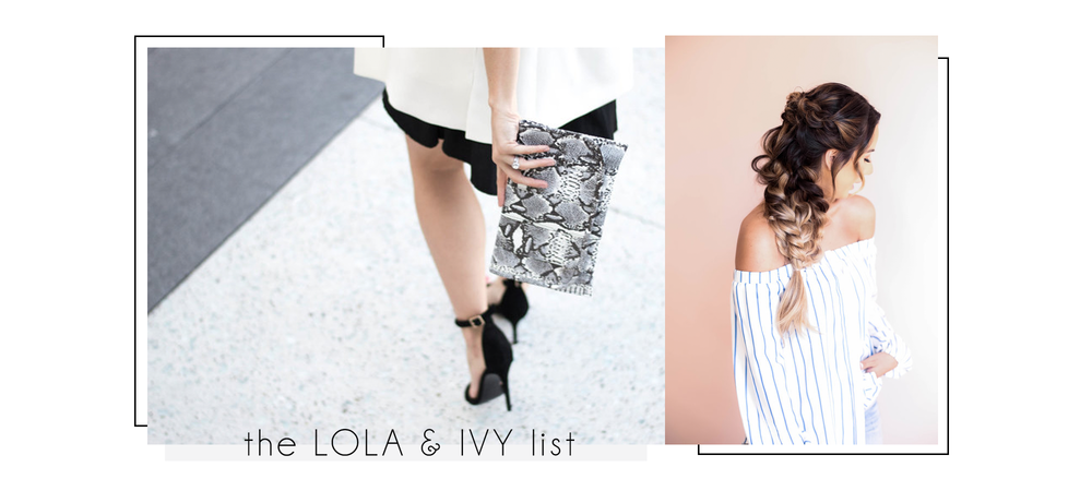 Lola & Ivy | Blogger Social Media & PR Firm