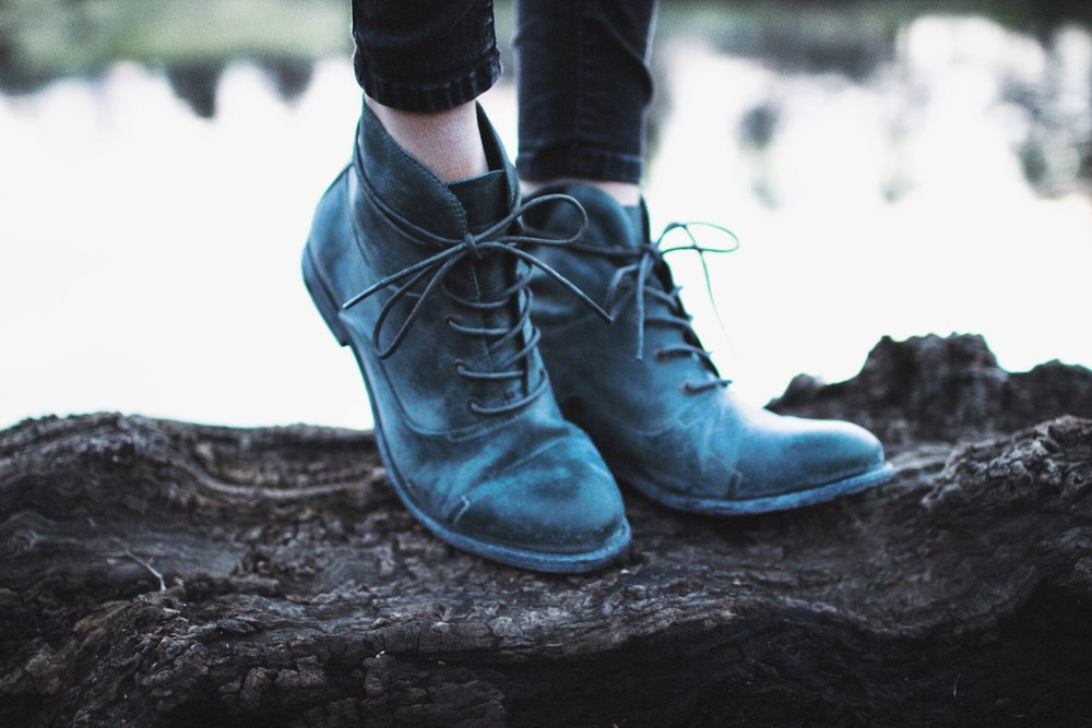 Fellow Lace Up Boot // Mel Denisse