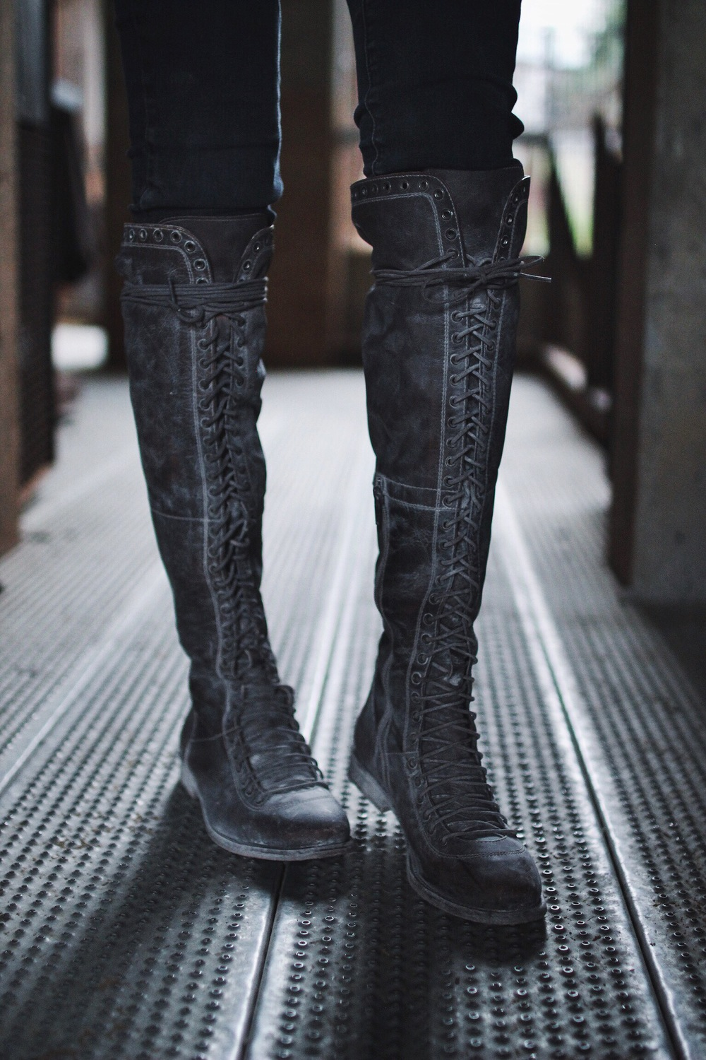 Caspian Lace Up Boots // Mel Denisse