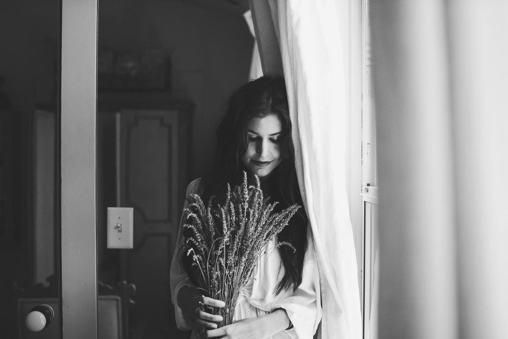 Lavender Afternoon // Mel Denisse