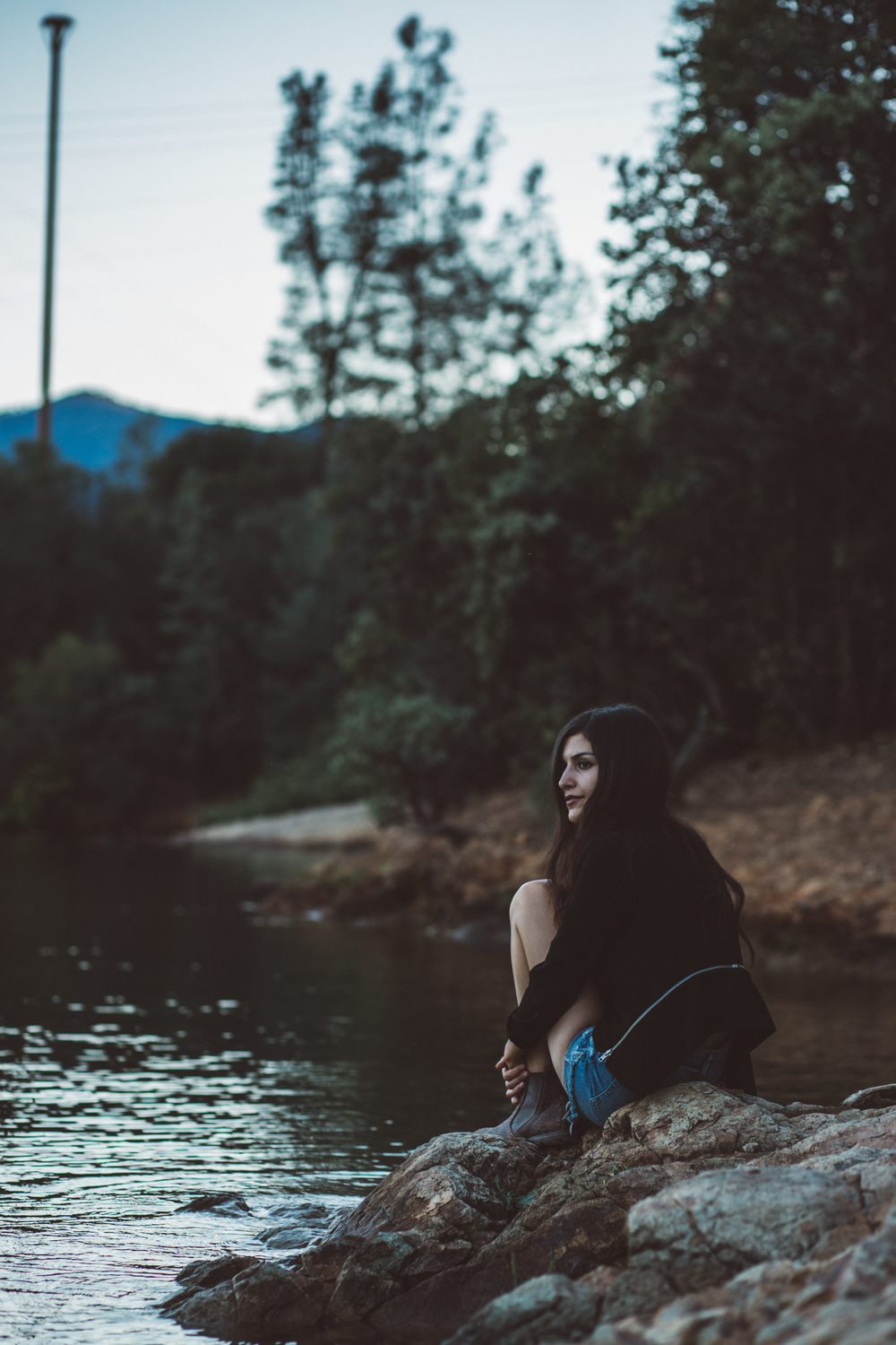 Serene Lake Evenings // Mel Denisse
