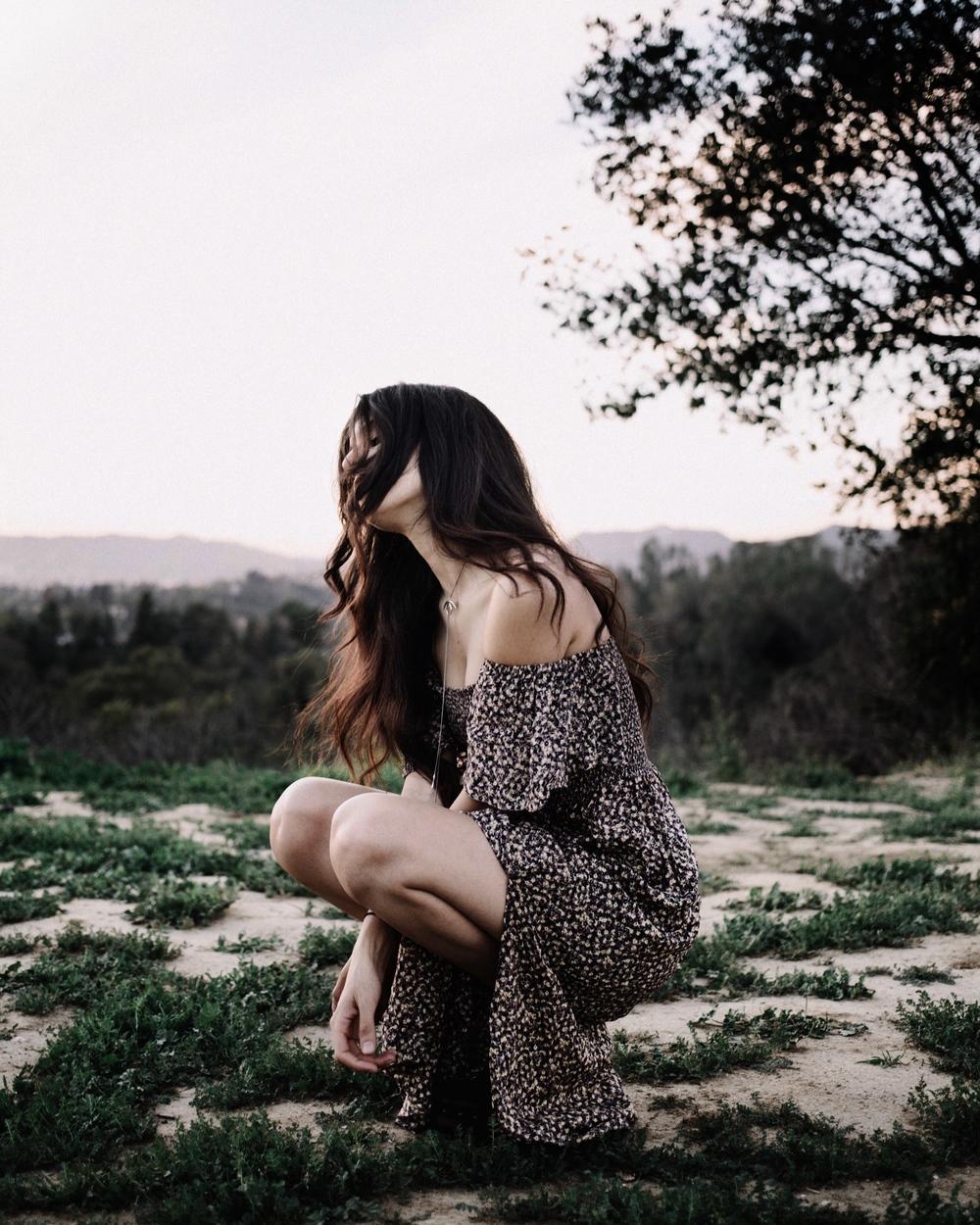 Floral Dusk // Mel Denisse
