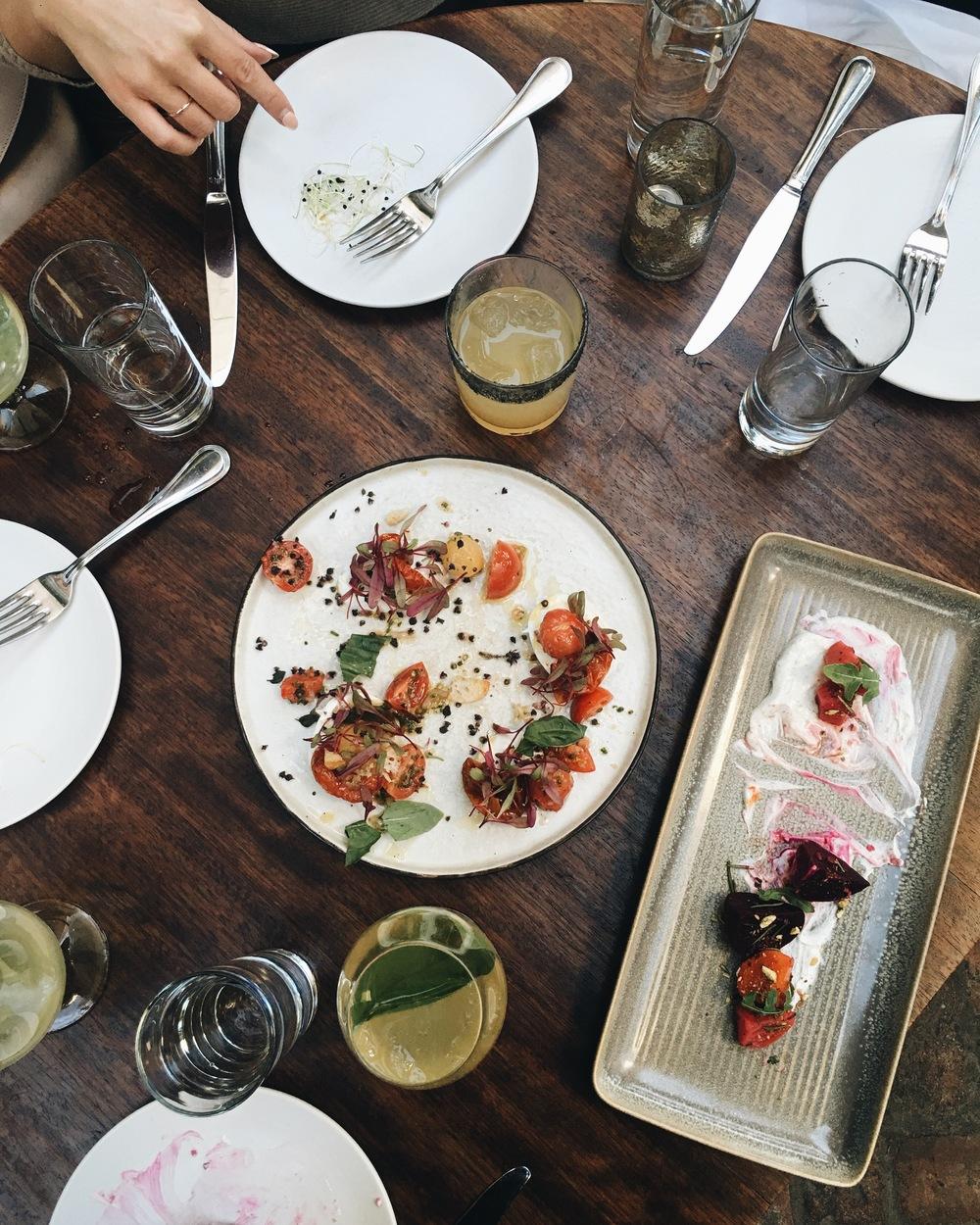 Estrella Summer Menu Tasting // Mel Denisse