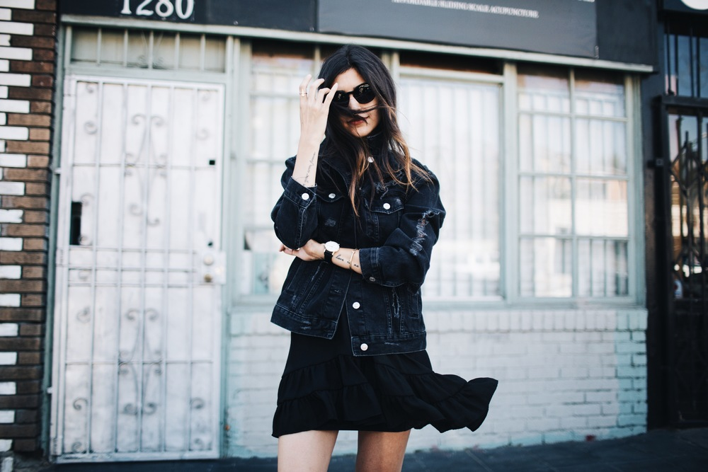 Black + Bold Statements // Mel Denisse