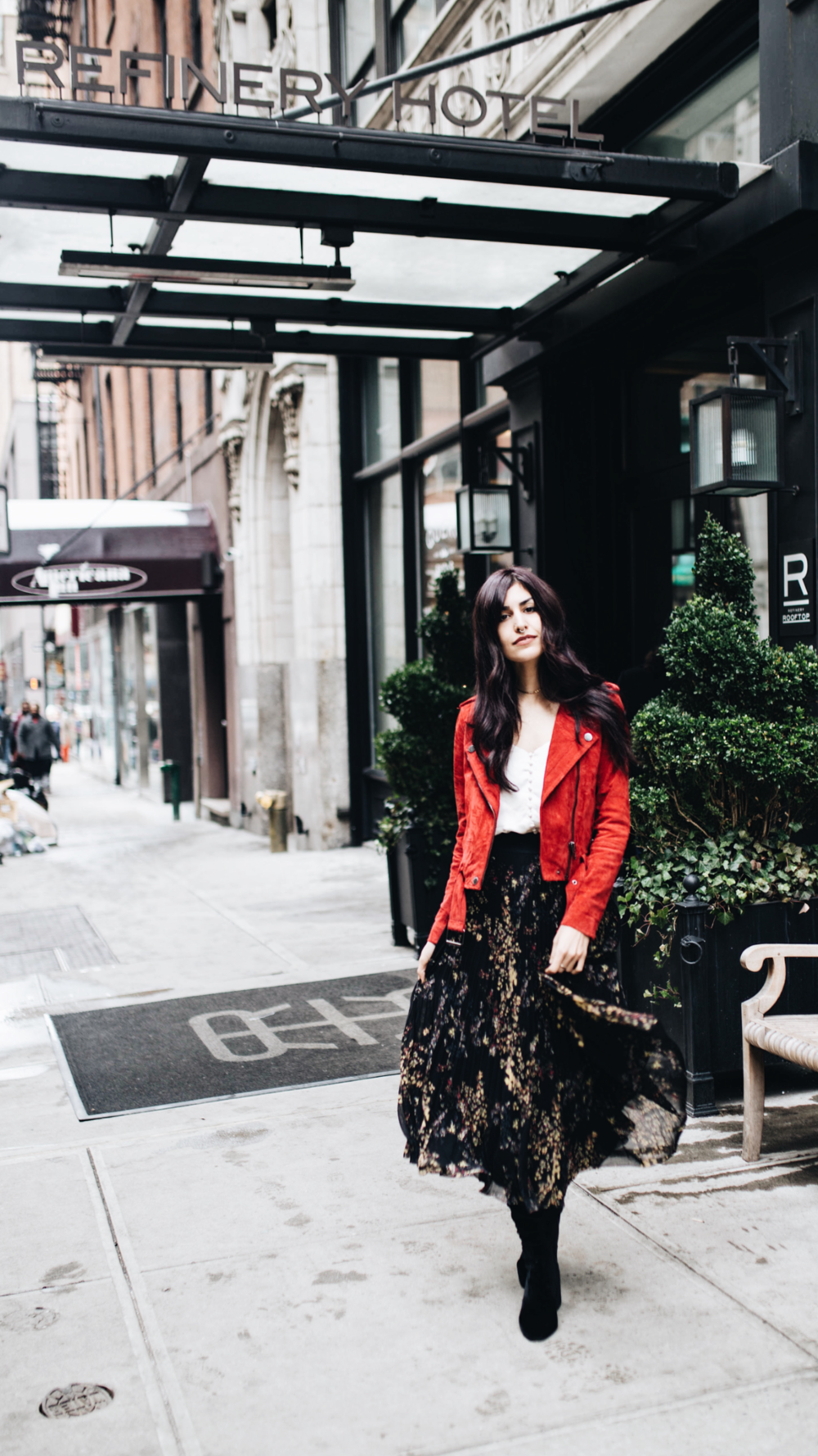 Exploring The Garment District NYC // Mel Denisse