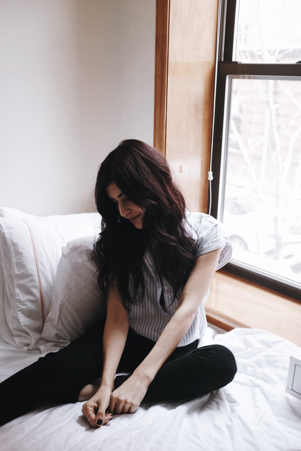 Staying Cozy With Aerie // Mel Denisse