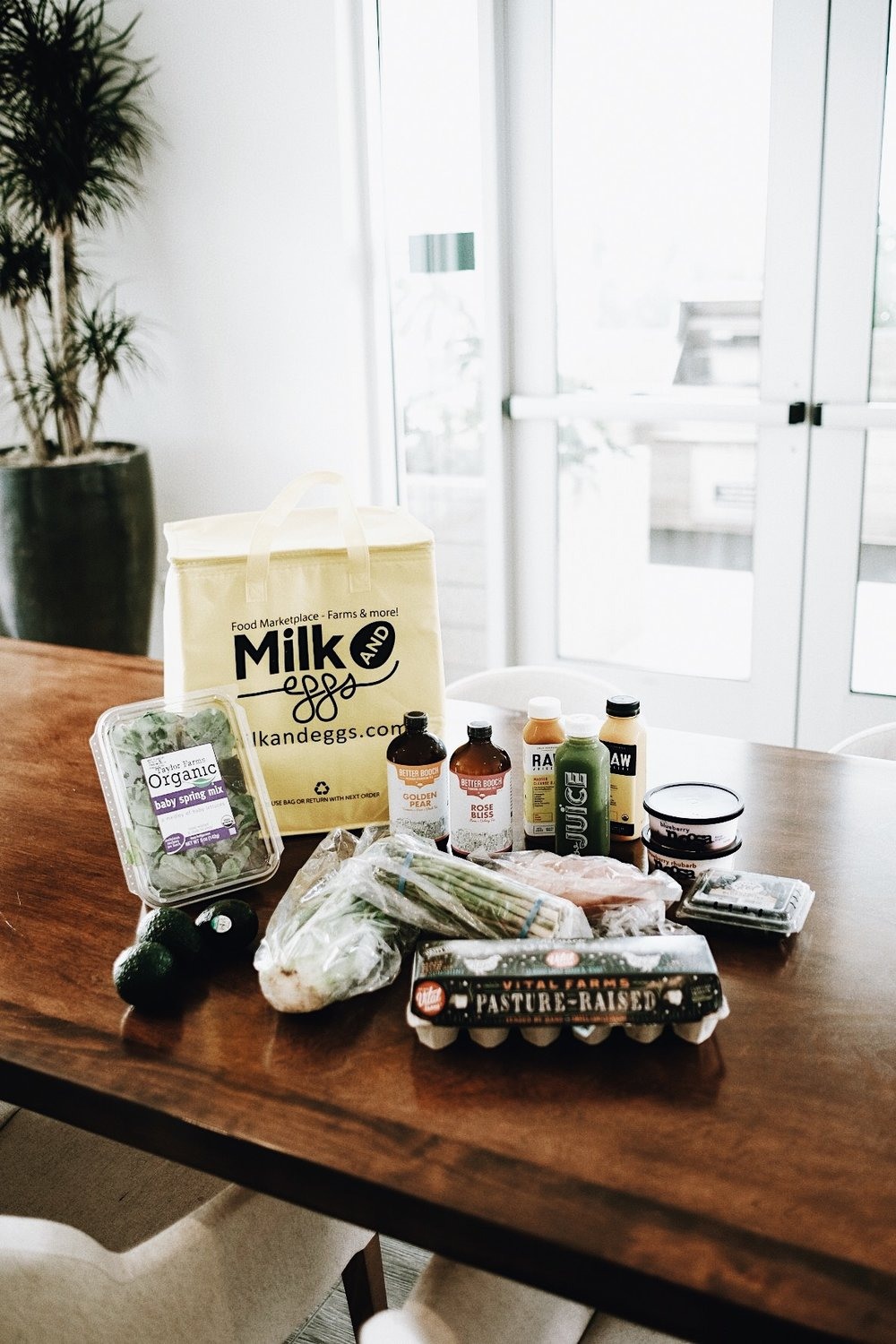 Milk & Eggs: The New Way to Do Local Groceries // Mel Denisse