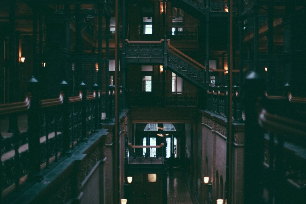 Bradbury Building At Eve // Mel Denisse