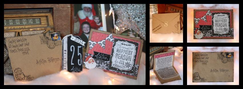 Santa letter christmas