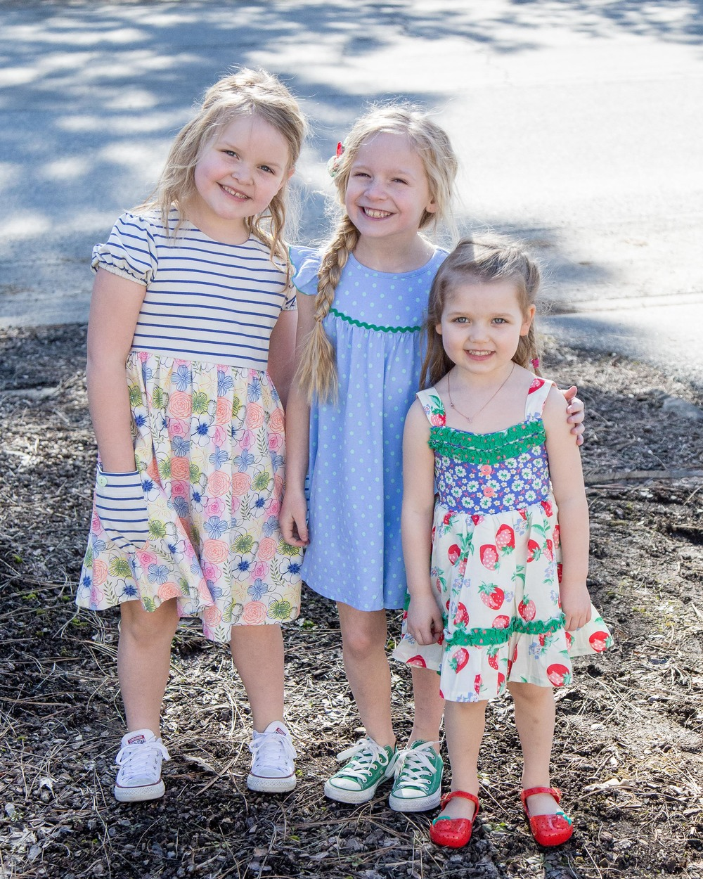 Sailor size 10/ Scout size 6/ Avery size 2