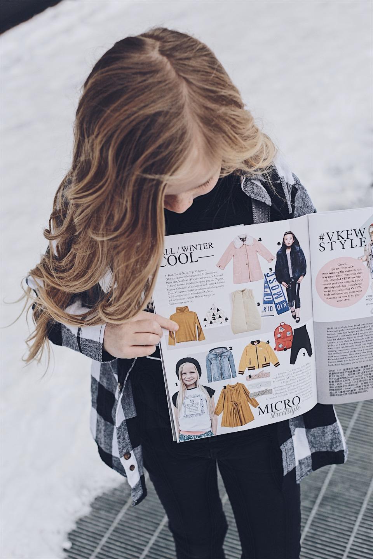 kid magazine model
