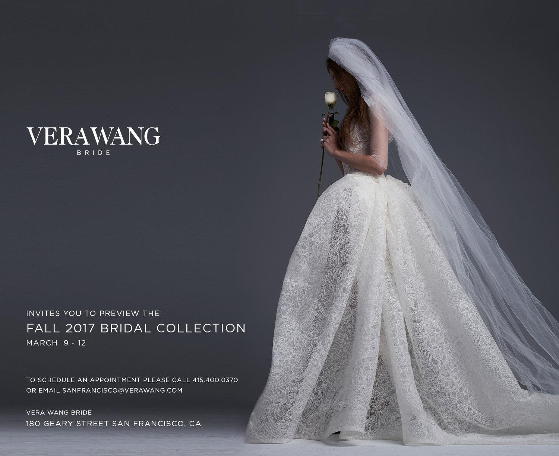 Vera Wang Trunk Show - San Francisco - March 9-12 — DREAM A LITTLE ...