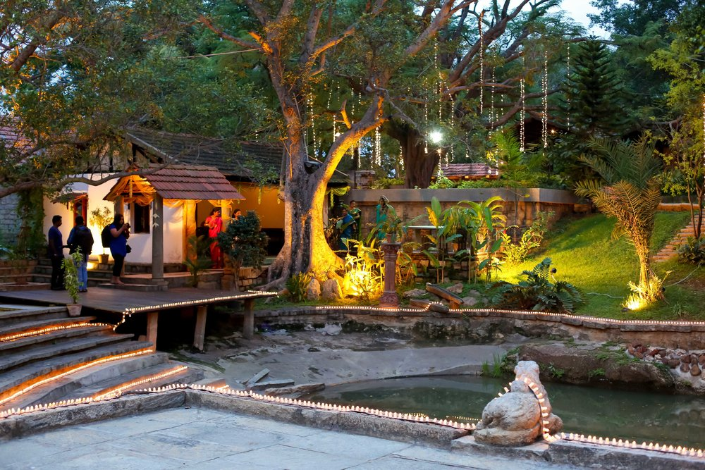 Public Speaking Venue with a Pond  | The Tamarind Tree