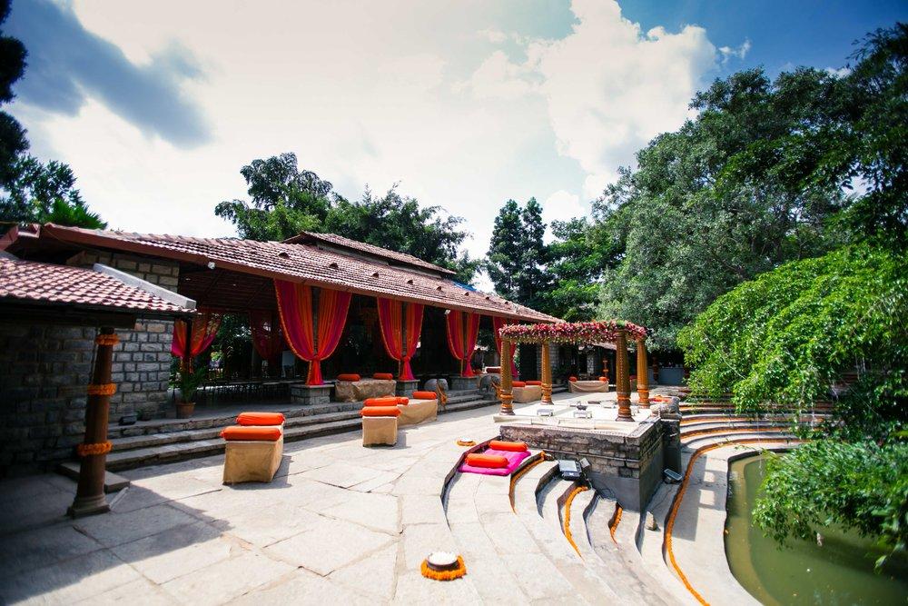 Best Resorts in Bangalore with  Antique Doorways | The Tamarind Tree