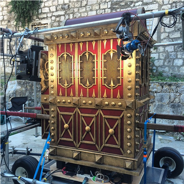 Cersei Lannister's Carriage?