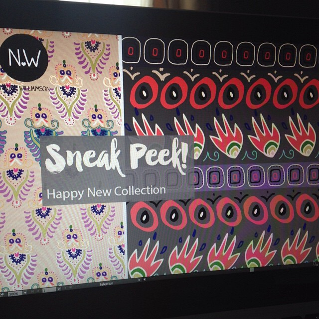Sneak Peek - First Look at A collection for SURTEX this May: Booth 222