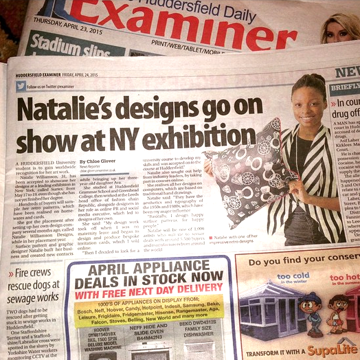 Natalie_Williamson_Designer_Huddersfield_Examiner_Newspaper_Clipping